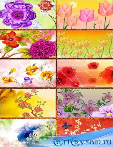 Фоны - Яркие цветы 2