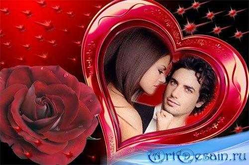 Рамка для Photoshop - С Днем Святого Валентина 2011