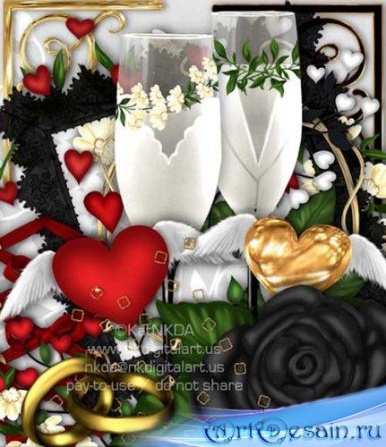 Романтический скрап - Любовь и страсть. Scrap - Love and Passion