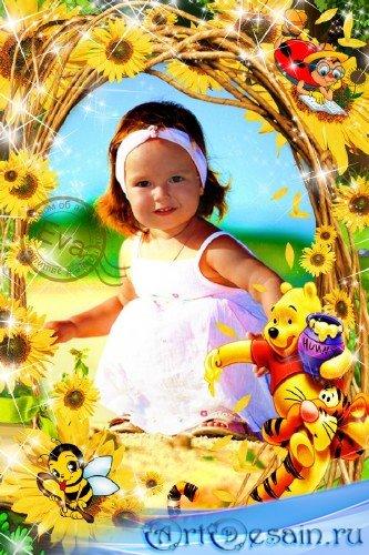 Детская фоторамка - Сладкий мед