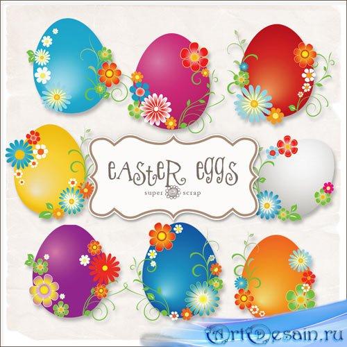 Клипарт - Пасхальные яйца