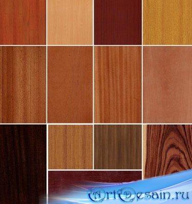 Качественные бесшовные текстуры дерева