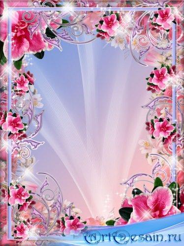 Рамка для фото - Весна - Цветы