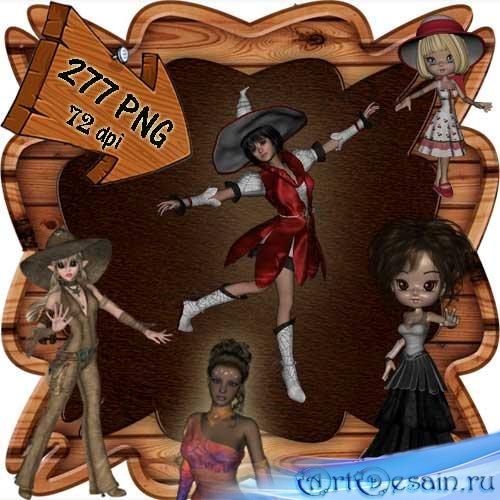 Скрап-набор - Мир фей и волшебства 7. Scrap - World of fairies and magics 7