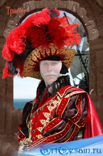 Шаблон для фотошоп мужской – Благородный дворянин
