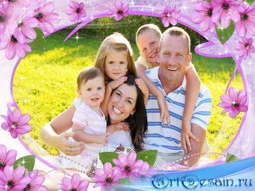 Фоторамка для всей семьи