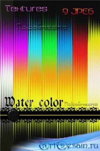 Акварель - Текстуры для Photoshop / Water color textures for Photoshop