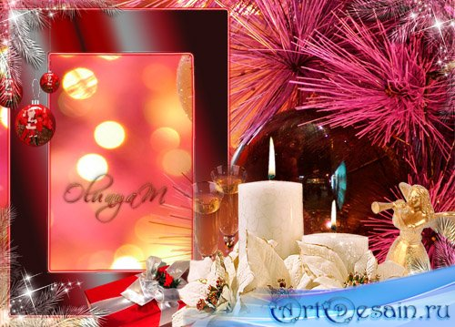 Новогодняя Рамка для фото - Новогоднее свидание
