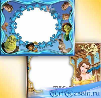 Рамочки для фотошопа - Детские