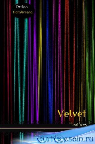 Бархатные текстуры для Photoshop / Velvet textures for Photoshop