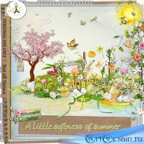 Очаровательный летний скрап-набор - Маленькое нежное лето