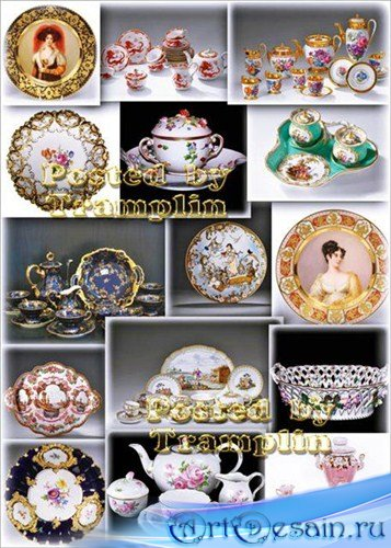 Фарфоровая посуда – Антикварная и современная