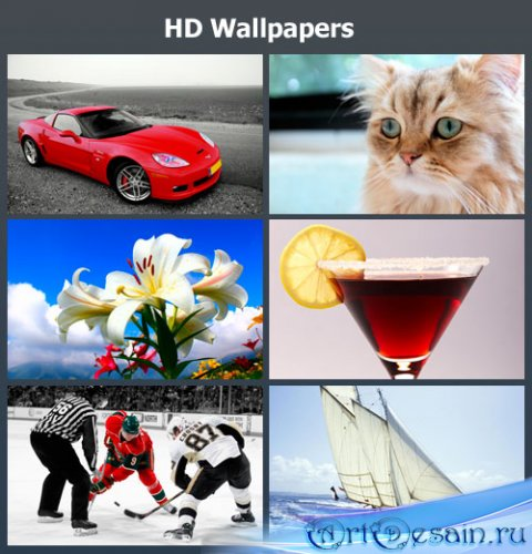 Миксфреш HD обоев / HD Wallpapers Pack