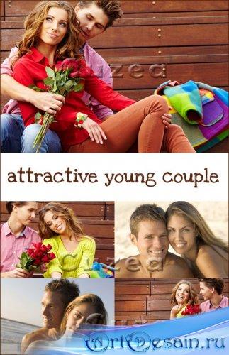 Красивые влюбленные пары- растровый клипарт