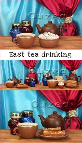 Восточное чаепитие- растровый клипарт