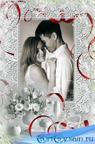 Рамочка для фото - Свадебное фото на память