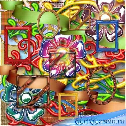 Набор Декоративных Элементов