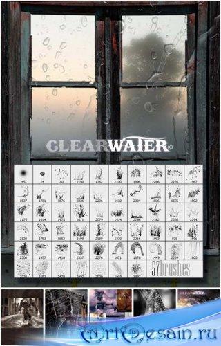 Кисти - Вода, брызги, капли (Clearwater)