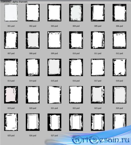 Коллекция - Rons Collection — PSD Layers