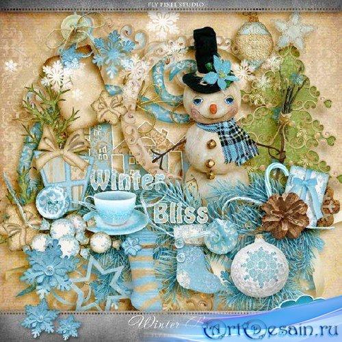Зимний скрап-набор - Зимнее наслаждение