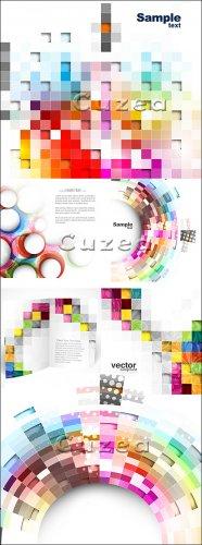 Абстрактные векторные фоны для дизайна в векторе