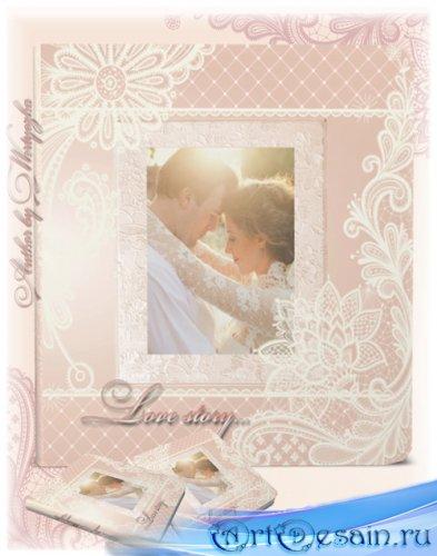Фотокнига универсальная для оформления свадебных фото, романтичных фото - Н ...