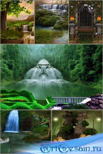 Фоны для фотошопа - Сказочная фантазия 3