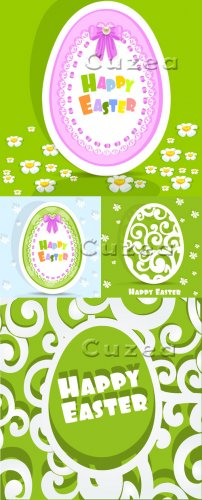 Светлой пасхи | Light Easter  - vector stock