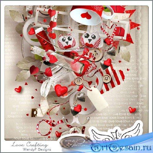 Скрап-комплект - Искусство любви