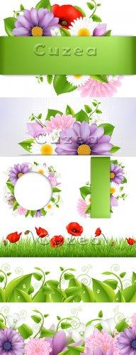 Весенние баннеры/ Vector stock - Spring banners