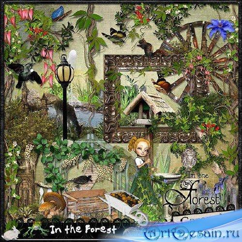 Набор для скрапбукинга - Прогулка в лесу