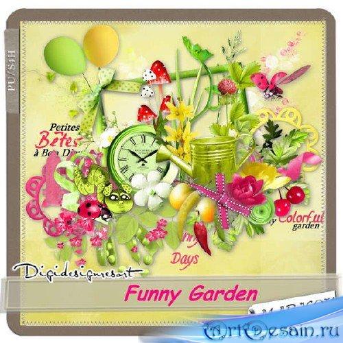 Скрап-комплект - Забавный сад