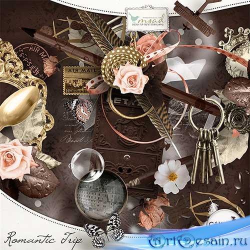 Романтический скрап-набор - Романтичное путешествие