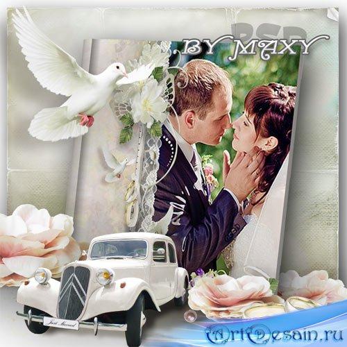 Фотокнига дизайн свадебный - Для новобрачных