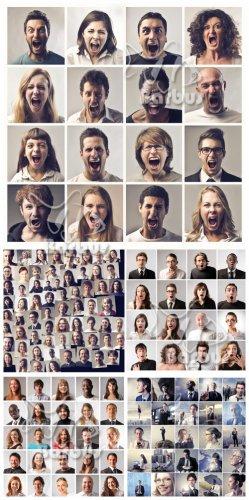 Wall of photos / Стена из фото людей