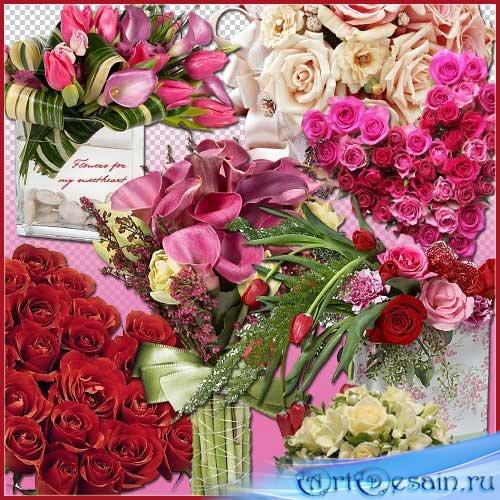 Цветочный скрап-набор - Цветы для моей любимой
