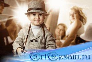 Шаблон  детский - Репортёр