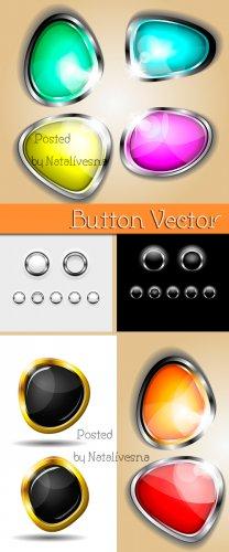 Абстрактные кнопки в Векторе / Vector - Abstract buttons