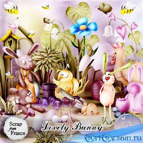 Набор для скрапбукинга - Lovely Bunny