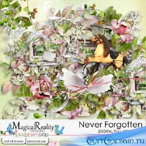 Цифровой скрап-набор - Never Forgotten