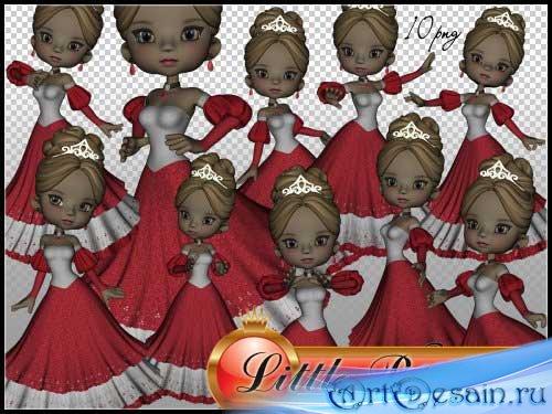 Сказочный набор для скрапбукинга - Маленькая принцесса
