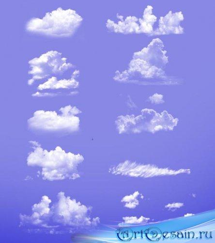 Кисти для Photoshop - Набор облаков