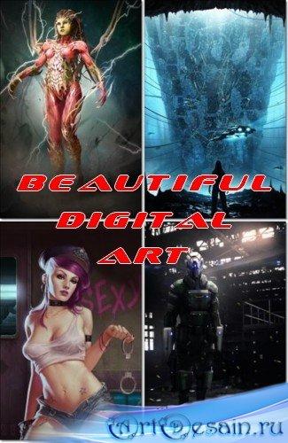 Рисованная графика - Beautiful Digital Art (JPEG)