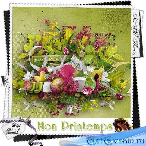 Весенний скрап-комплект - Mon Printemps