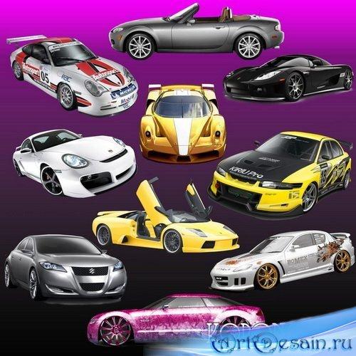 PSD Исходник - Автомобили