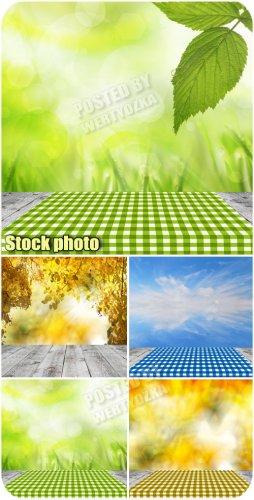 Природные фоны / Natural background - raster clipart