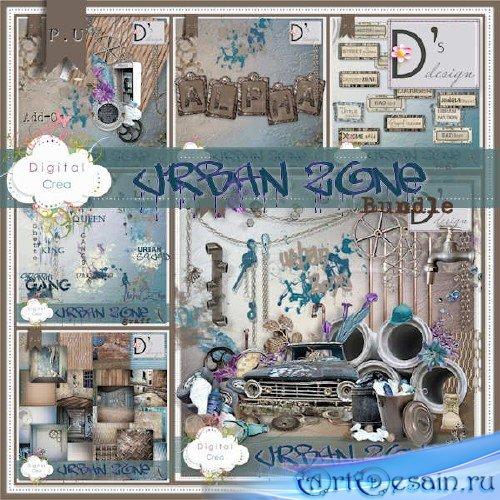 Скрап-комплект - Urban Zone