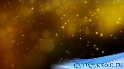 HD футаж Ночной танец огней (MOV)