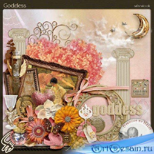 Цифровой скрап-комплект - Goddess