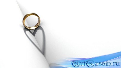 футаж Обручальное кольцо MOV